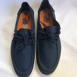 f2a0ce210c vans Shoes - Vans Rata Vulc Wax Dress Blues Sz 13